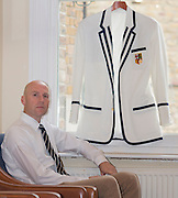 London, England. Club Blazers. London Rowing Club [LRC} with member Keith WOBESER.  Thursday   13/11/2014 [Mandatory Credit; Peter SPURRIER/Intersport Images]