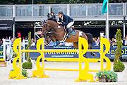 Jaime Gabarron Jimenez - Zarina de Vidau<br /> FEI World Breeding Jumping Championships for Young Horses 2016<br /> © DigiShots