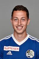 15.07.2016; Luzern; Fussball - FC Luzern;<br />Remo Arnold (Luzern)<br />(Martin Meienberger/freshfocus)
