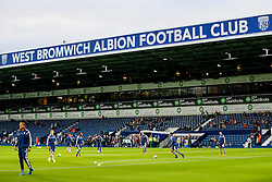 West Brom players warm up - Photo mandatory by-line: Rogan Thomson/JMP - 07966 386802 - 26/08/2014 - SPORT - FOOTBALL - The Hawthorns, West Bromwich - West Bromwich Albion v Oxford United - Capital One Cup Round 2.