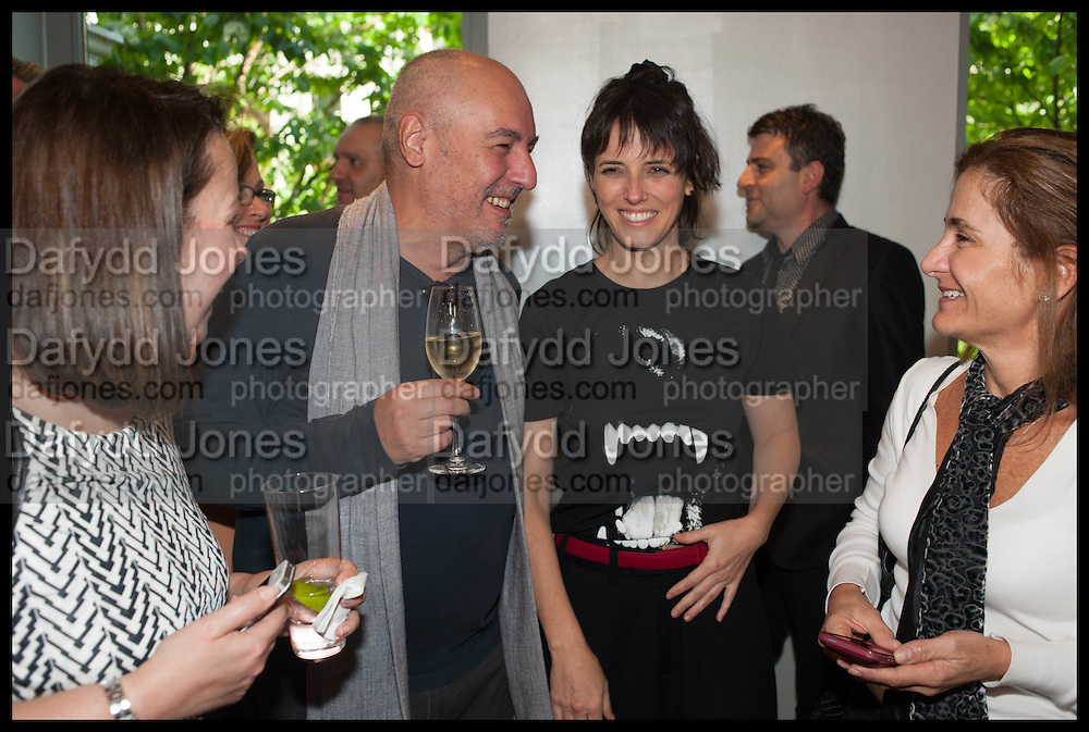 JOSIMAR MELO; HELENA RIZZO, Veuve Clicquot World's Best Female chef champagne tea party. Halkin Hotel. Halkin St. London SW1. 28 April 2014.