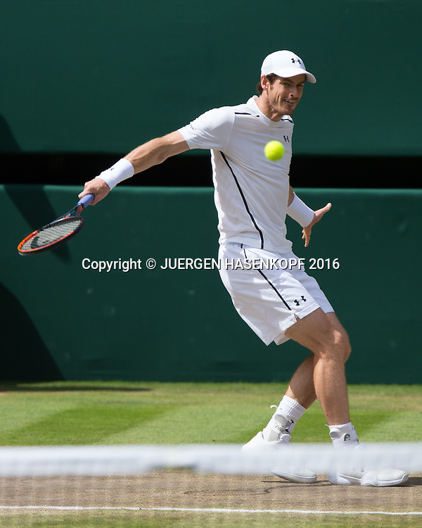 ANDY MURRAY (GBR), Herren Endspiel, Finale <br /> <br /> Tennis - Wimbledon 2016 - Grand Slam ITF / ATP / WTA -  AELTC - London -  - Great Britain  - 10 July 2016.