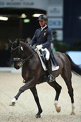 Jiminez Juan Antonio, (ESP), Elevado<br /> Grand Prix Dressage München 2015<br /> © Hippo Foto - Stefan Lafrentz