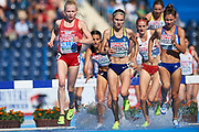 Bydgoszcz, Poland - 2017 July 15: Nataliya Strebkova from Ukraine during European Athletics U23 Championships 2017 at Zawisza Stadium on July 15, 2017 in Bydgoszcz, Poland.<br /> <br /> Adam Nurkiewicz declares that he has no rights to the image of people at the photographs of his authorship.<br /> <br /> Picture also available in RAW (NEF) or TIFF format on special request.<br /> <br /> Any editorial, commercial or promotional use requires written permission from the author of image.<br /> <br /> Mandatory credit:<br /> Photo by &copy; Adam Nurkiewicz