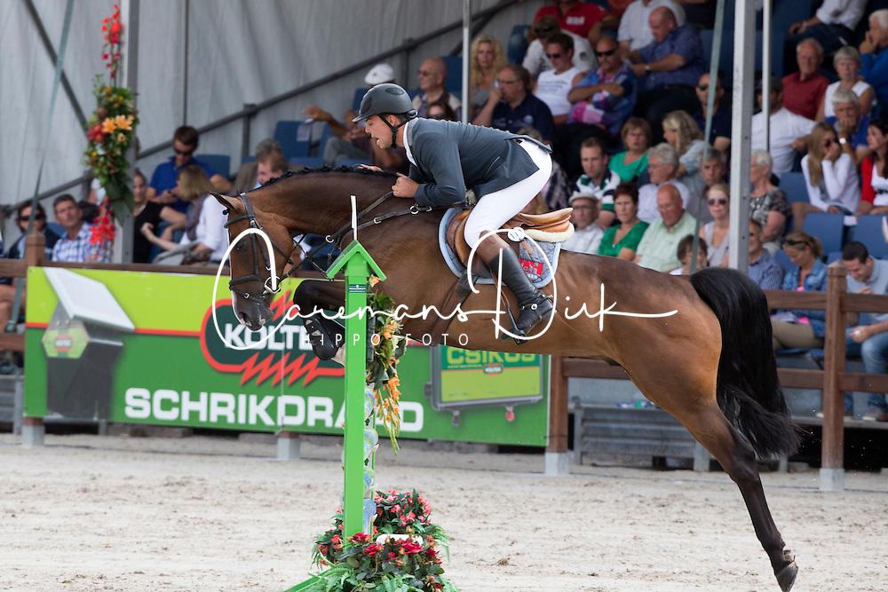 Olthof Peter (NED) - Dutsboy<br /> KWPN Paardendagen - Ermelo 2012<br /> © Dirk Caremans