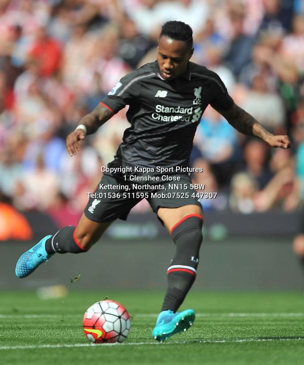 NATHANIEL CLYNE LIVERPOOL, Stoke City v Liverpool, Premiership, Britannia Stadium Sunday 9th August 2015