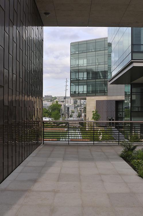 BILL & MELINDA GATES FOUNDATION CAMPUS, designed by NBBJ architects, Seattle, Washington, USA