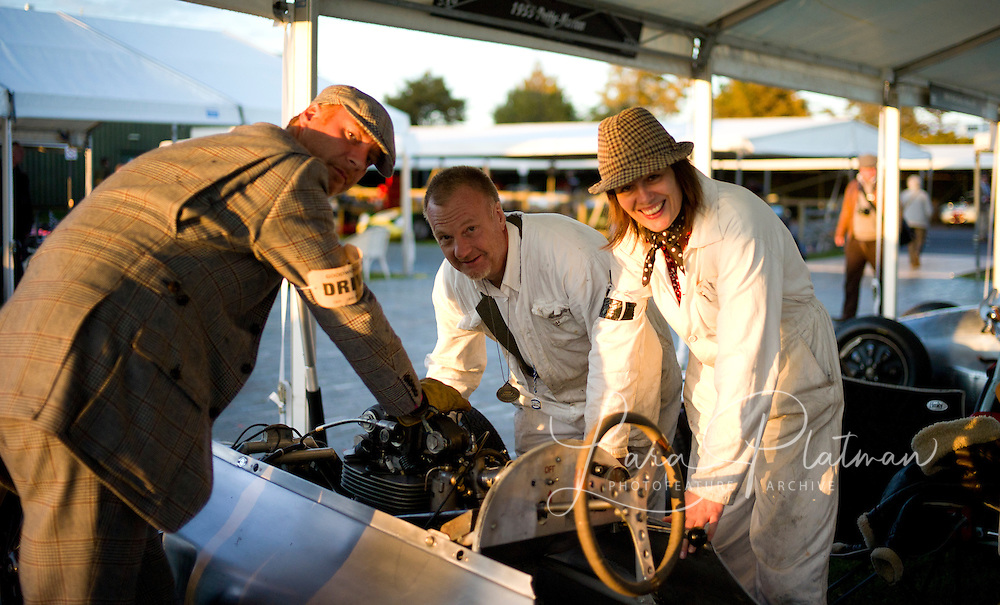 Reichman bros , the Emmerson and the Henry Poole suit at Goodwood Revival 2011