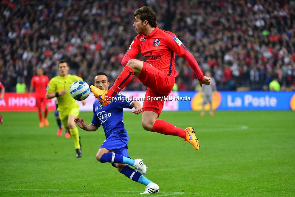 Sherrer MAXWELL - 11.04.2015 -  Bastia / PSG - Finale de la Coupe de la Ligue 2015<br />Photo : Dave Winter / Icon Sport