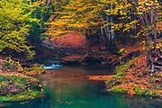 Autumn season in Strandzha Mountains