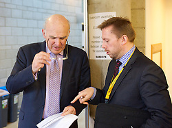 Secretary of State for Business Vince Cable attends  the Liberal Democrats Spring Conference in York, Friday, 7th March 2014. Picture by Elliot Franks / i-Images