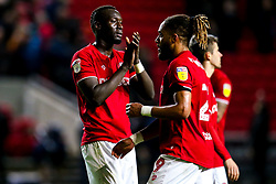 Famara Diedhiou of Bristol City and Ashley Williams of Bristol City  - Mandatory by-line: Robbie Stephenson/JMP - 10/12/2019 - FOOTBALL - Ashton Gate - Bristol, England - Bristol City v Millwall - Sky Bet Championship