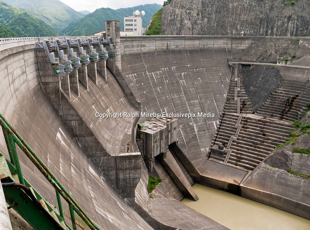 Amazing images of the Udawalaw dam<br /><br />The The Udawalawe Dam is a large irrigation dam in Udawalawe, in the Southern Province of Sri Lanka. The dam consists of an embankment section and a gravity section, combining the total dam length to approximately 3.9 km (2.4 mi). <br /><br /> Its main task is not to generate electricity, but to regulate the water level in the river, to prevent the flooding of areas in heavy rains. Construction began in 1953, and was completed in 1964. The output is 36.7 MW. The dam has an arcuate shape, which gives it a certain elegance.<br />©Ralph Mirebs/Exclusivepix Media