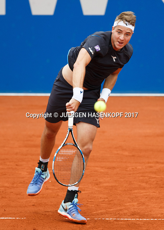 JAN-LENNARD STRUFF (GER)<br /> <br /> Tennis - BMW Open 2017 -  ATP  -  MTTC Iphitos - Munich -  - Germany  - 5 May 2017.