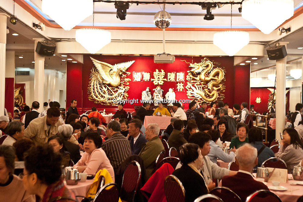 New York.  restaurant Chinatown  New York - United States  / restaurant Chinatown  New York - Etats unis