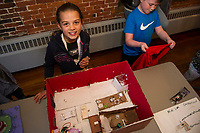 Maker's Night exhibit at Belknap Mill for students 4th grade through high school.     (Karen Bobotas/for the Laconia Daily Sun)