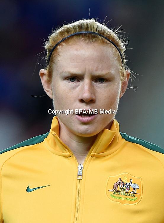 Fifa Woman's Tournament - Olympic Games Rio 2016 -  <br /> Australia National Team - <br /> Clare Elizabeth Polkinghorne