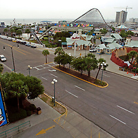 Myrtle Beach, SC-<br /> The Amusement Park at The Myrtle Beach Pavilion is seen from a parking deck across the street from the pavilion. The Myrtle Beach Pavilion will close at the end of this season.