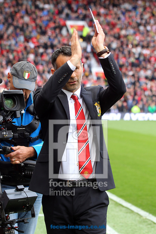 Man Utd Interim Manager Ryan Giggs before the Barclays Premier League match at Old Trafford, Manchester<br /> Picture by Paul Chesterton/Focus Images Ltd +44 7904 640267<br /> 26/04/2014