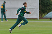 Billy Root during the friendly match between Nottinghamshire County Cricket Club and Northamptonshire County Cricket Club at Grantham CC, Grantham, United Kingdom on 5 July 2017. Photo by Simon Trafford.