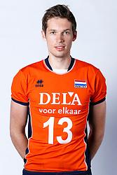 20150506 NED: Selectie Nederlands volleybal team mannen, Arnhem<br />Op Papendal werd het Nederlands team volleybal seizoen 2015-2016 gepresenteerd / Maarten van Garderen<br />©2015-FotoHoogendoorn.nl / Pim Waslander