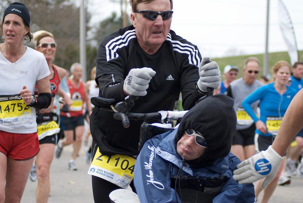 Heartbreak Hill, Boston Marathon.