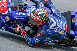 September 7, 2018 - 25 MAVERICK VINALES from Spain, Movistar Yamaha MotoGP Team, Yamaha YZR-M1 2018, Gran Premio Octo di San Marino e della Riviera di Rimini, during the Friday FP2 at the Marco Simoncelli World Circuit for the 13th round of MotoGP World Championship, from September 7th to 9th, 2018. (Credit Image: © AFP7 via ZUMA Wire)