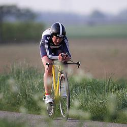 CYCLING 's-Heerenhoek: De eerste etappe voor junior vrouwen omloop van Borsele individuele tijdrit