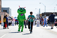 October 28, 2018: Open Streets OKC takes place on South Robinson Avenue just south of downtown Oklahoma City, Oklahoma.