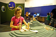 Downtown Charlotte science museum Discovery Place, new hands-on and marine exhibits opened summer 2010. This is the new Project Build exhibit