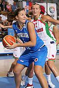DESCRIZIONE : Ortona Italy Italia Eurobasket Women 2007 Bielorussia Italia Belarus Italy <br /> GIOCATORE : Federica Ciampoli <br /> SQUADRA : Nazionale Italia Donne Femminile EVENTO : Eurobasket Women 2007 Campionati Europei Donne 2007 <br /> GARA : Bielorussia Italia Belarus Italy <br /> DATA : 03/10/2007 <br /> CATEGORIA : Passaggio <br /> SPORT : Pallacanestro <br /> AUTORE : Agenzia Ciamillo-Castoria/S.Silvestri Galleria : Eurobasket Women 2007 <br /> Fotonotizia : Ortona Italy Italia Eurobasket Women 2007 Bielorussia Italia Belarus Italy <br /> Predefinita :