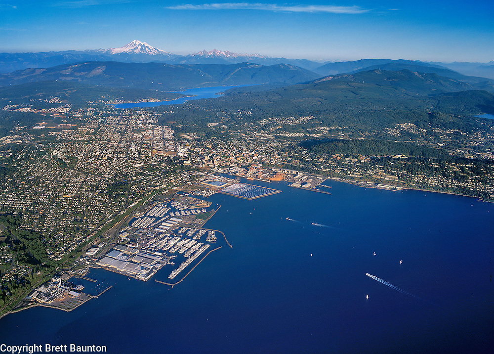 Bellingham Bay, Lake Whatcom, Mt. Baker, Washington State