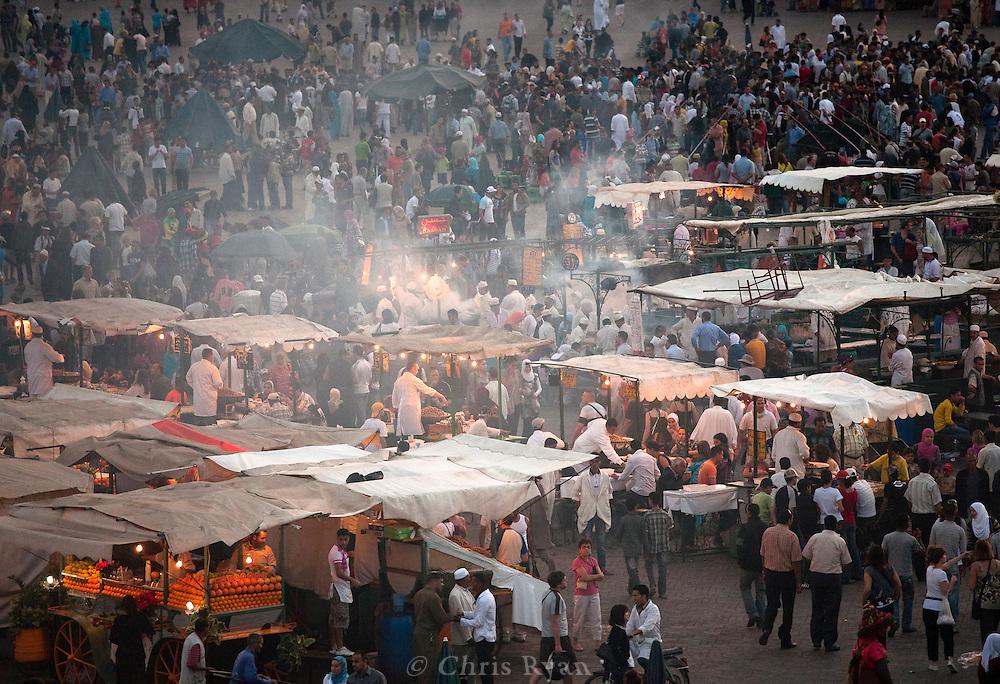 Place Jemma el-Fna, Marrakesh, Morocco