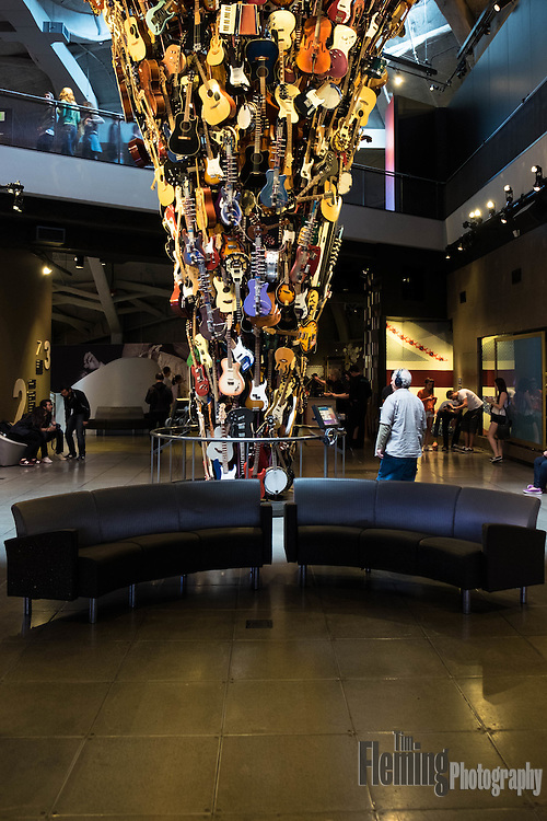 The EMP Museum is a nonprofit museum, dedicated to contemporary popular culture.