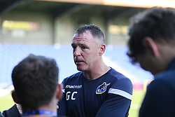 Bristol Rovers manager Graham Coughlan during the post match interviews - Mandatory by-line: Arron Gent/JMP - 21/09/2019 - FOOTBALL - Cherry Red Records Stadium - Kingston upon Thames, England - AFC Wimbledon v Bristol Rovers - Sky Bet League One