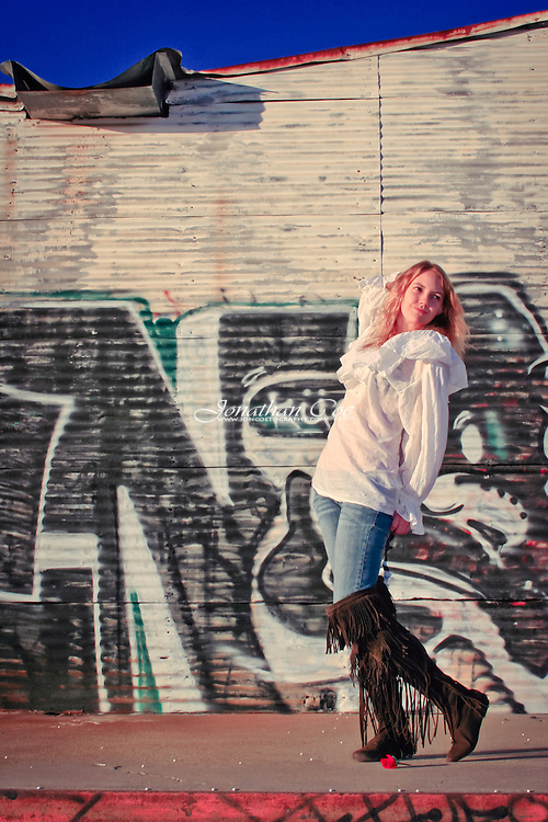 Model: Jessie James Hollywood<br /> Location: Downtown Fresno, CA