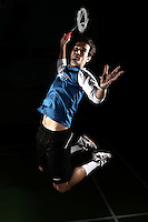 Nathan Robertson England Badminton, World Championships Photoshoot, NBC, Milton Keynes, England, 2011