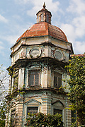 Overgrown tower of the Yangon Division Court