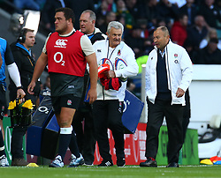 November 3, 2018 - London, England, United Kingdom - London, UK, 03 November, 2018.England's Coach Eddie Jones.during Quilter International between England  and South Africa at Twickenham stadium , London, England on 03 Nov 2018. (Credit Image: © Action Foto Sport/NurPhoto via ZUMA Press)