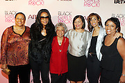 16 October 2010-New York, NY- l to r: Teresa Clarke, President and CEO of Africa.com,  Beverly Bond, Founder and CEO of Black Girls Rock!, Ruby Dee, Actress,  Deb L. Lee, President and CEO of BET, Tracey Feurgenson, Editor-in-Chief, Jones Magazine and Major General Marcelite Harris at The Black Girls Rock! Shot Caller's Reception Presented by Beverly Bond and BET held at Fred's at Barneys New York on October 15, 2010 in New York City. ..BLACK GIRLS ROCK! Inc. is 501(c)3 non-profit youth empowerment and mentoring organization established to promote the arts for young women of color, as well as to encourage dialogue and analysis of the ways women of color are portrayed in the media. Photo Credit:.Terrence Jennings..