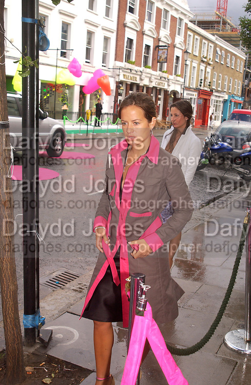 Jade Jagger arriving, Diane von Furstenberg<br />