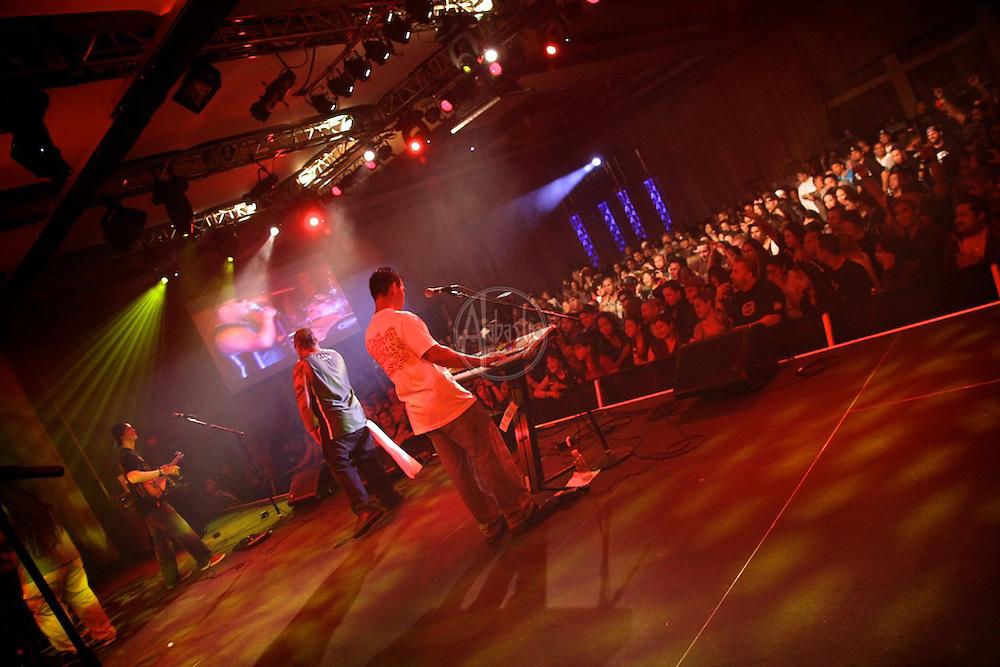 Maoli performing at FallFest '11 at Snoqualmie Casino on October 29, 2011
