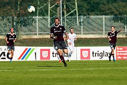 Luka Majcen of NK Triglav during football match between NK Triglav and NK CB24 Tabor Sezana in 15th Round of Prva liga Telekom Slovenije 2019/20, on October 26, 2019 in Sportni park Kranj, Kranj, Slovenia. Photo Grega Valancic / Sportida