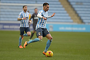Coventry City on the attack during the Sky Bet League 1 match between Coventry City and Bury at the Ricoh Arena, Coventry, England on 13 February 2016. Photo by Dennis Goodwin.