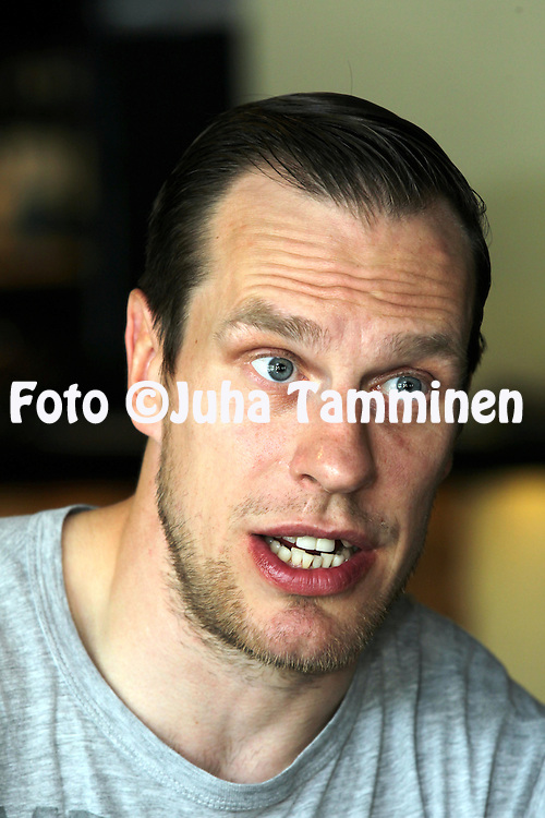 Tapparan Ville Nieminen haastattelussa.