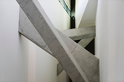Interior architecture of the Jewish Museum in Kreuzberg Berlin Germany