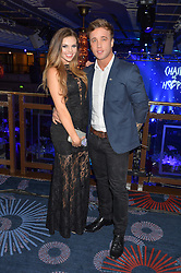 GABRIELLA RYAN and SAM CALLAHAN at the Chain of Hope Gala Ball held at The Grosvenor House Hotel, Park Lane, London on 18th November 2016.