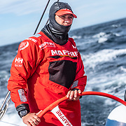 Leg 11, from Gothenburg to The Hague, day 03 on board MAPFRE, Antonio Cuervas-Mons steering. 23 June, 2018.