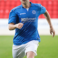 SPFL Development League...St Johnstone v Aberdeen..01.10.14<br /> New St Johnstone signing James McFadden<br /> Picture by Graeme Hart.<br /> Copyright Perthshire Picture Agency<br /> Tel: 01738 623350  Mobile: 07990 594431