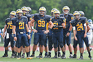 Belen Jesuit Wolverine Football Team Vs. Hialeah at Belen Friday September 2, 2011.  Belen Jesuit's defense shut out Hialeah for a 24-0 Victory.